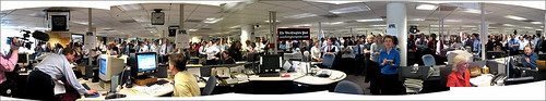 Newsroom der Washington Post, (cc) Burnt Pixel