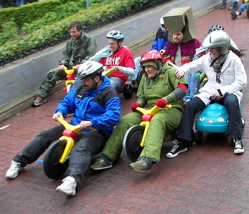Take part in the annual Big Wheel Race in San Francisco: I loved my Big ...