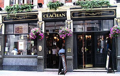 Front of the Clachan (crazyBobcat) Tags: travel england london english sign pub trip2scotland soho victorian theclachan pubsign favcol