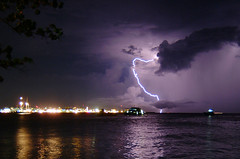 lightning over the capital city (muha...) Tags: male experiment lightning maldives capitalcity