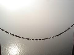Morgennebel auf der kleinen Mritz (martinbetz) Tags: kitsch 2006 hausboot mritz