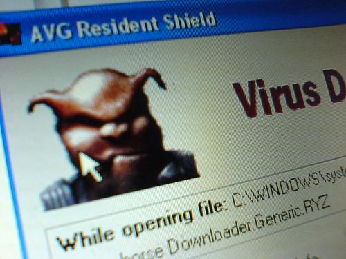 Virus attack!