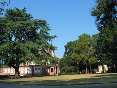 The Quad (digivation) Tags: trees buildings campus landscape university quad mercer