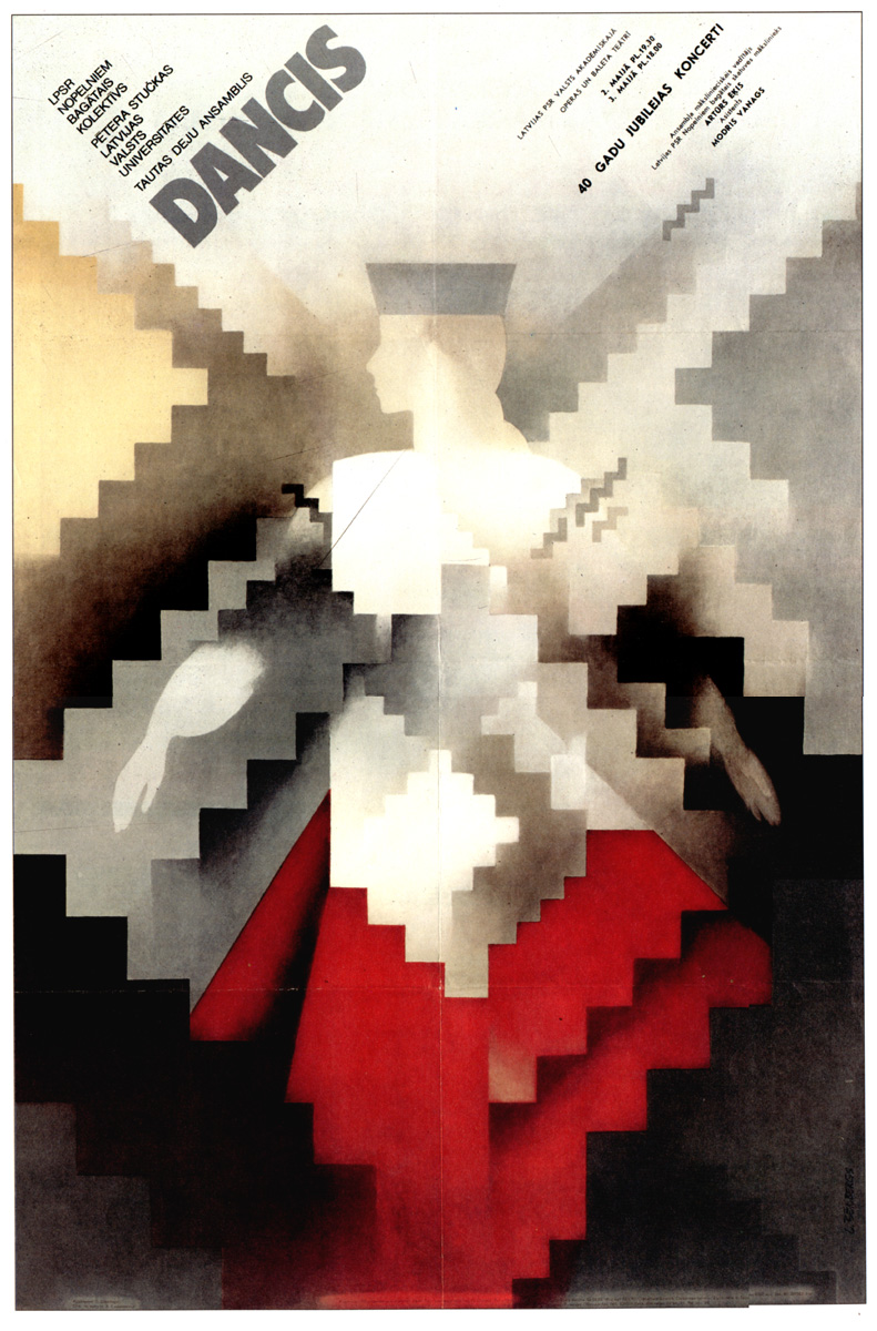 Carteles soviéticos en el Flickr de Ben Perry