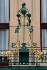 Detail of the Municipal House (Andres y Monica) Tags: prague prag praha praga artnouveau horda andresymonica