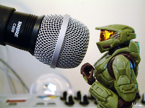 master chief sings by Ayton.