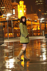 LoveThisCity (Lamul) Tags: rain studio boots melbourne puddles flindersstreet dynax5d 3600hs alumbra