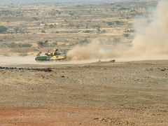 T-90S Firing on the move