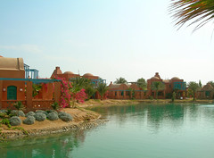 Sheraton Miramar Resort El Gouna, Hurghada - Egypt (mnadi) Tags: flowers sunset red summer sky orange holiday flower colour garden hotel warm colours outdoor redsea egypt sunny el resort bougainvillea arabic clear gouna egyptian styles sheraton ethnic spa miramar hurghada michaelgraves bedouin  nubian elgouna bougainvilleas