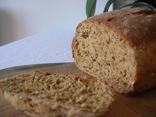 Home-baked bread