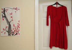red dress (FotoFyli) Tags: door red wall dress blossom plum popolo reddress popolo2 popolo3 unpopolo unpopolo2 popolo4 popolo5 unpopolo3 popolo6 popolo7 unpopolo4 dontgiveapopolo ybd dontgiveapopolo3 dontgiveapopolo2 dontgiveapopolo5 dontgiveapopolo4 votedpopolobythepopolopeople
