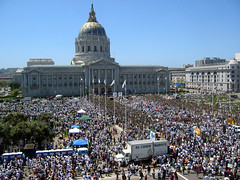 San Francisco Civic Center, May Day, Immigrant...