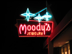 Moody's Jewelry Neon Sign