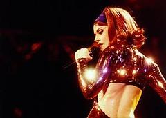 1990 lady miss kier in Brazil (ladystyllees) Tags: brazil lady sparkle sequins miss 1990 catsuit ladymisskier kier