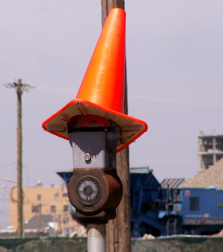 Orange Cones and Their Strange Whereabouts