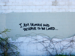 la cienega. (dearsomeone) Tags: street art graffiti los am angeles human be loved deserve dearsomeone