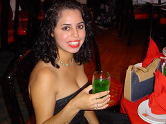 at the FD party (hooked_beauty) Tags: woman hot sexy beautiful curls mexican wife