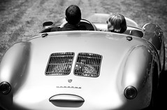 Porsche for a Ride (Thomas Hawk) Tags: auto california two people blackandwhite bw usa white man black cars topf25 car blackwhite classiccar automobile driving unitedstates fav50 10 unitedstatesofamerica fav20 riding porsche fav30 southbay concours classiccars hillsborough wome hillsboroughconcours fav10 fav25 fav40 fav60 concoursedelegance 550spyder fav70 superfave