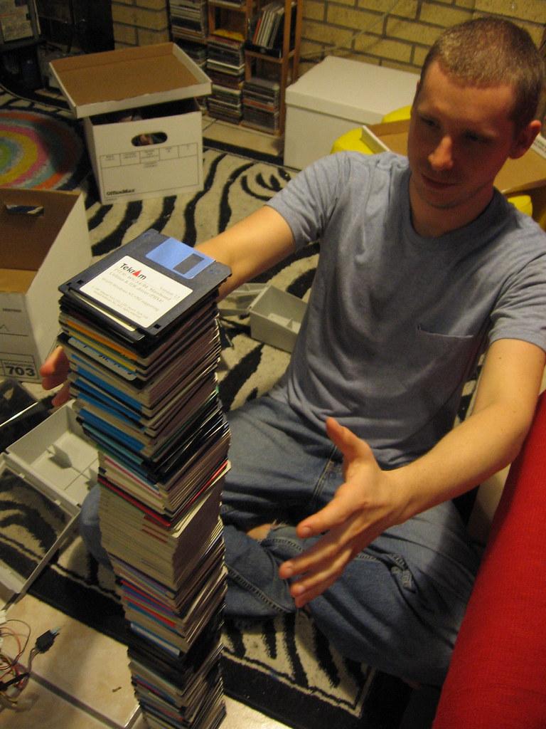 Balancing floppies