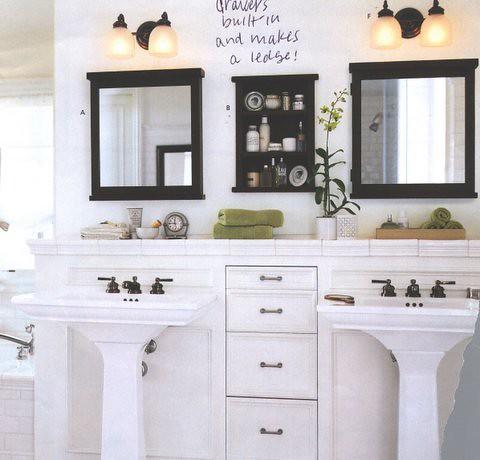 Unique SinkWrap Easy To Assemble Bath Vanity For Pedestal Sinks