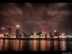 The Bund (HDR) - by Laurence & Annie