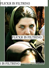 FLICKR IS FILTRING (ahmad khatiri) Tags: woman iran protest hijab block freedomofexpression greeneyed flickrisfiltring weshallnotbesilenced