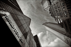 trump tower (davemacintosh) Tags: nyc blackandwhite streetphotography touchthesky