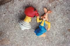 The fate of lesser toys (baughj) Tags: toys minolta bostoncommon minoltasrt101