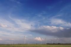 Parque eólico en La Muela (Zaragoza)