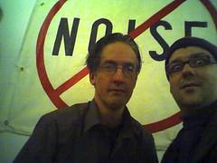 Mark Hosler (Negativland) + me