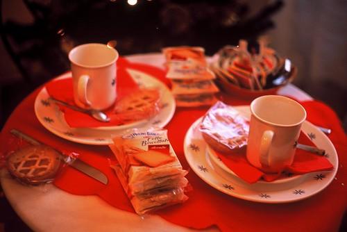 ローマで朝食を
