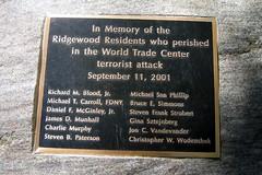 Ridgewood 9/11 Memorial (Sheena 2.0™) Tags: usa monument america us newjersey memorial worldtradecenter 911 nj jersey twintowers wtc bergen september11 monuments mapprinclude fdny groundzero mappr memorials ridgewood bergencounty charliemurphy firefightermemorial zip07450 vannesspark ridgewood911 stevenbpaterson sheena20™ ©allrightsreservedsheenachi sheenachi™ christopherwwodenshek michaeltcarroll richardmbloodjr ridgewood911memorial danielfmcginleyjr jamesdmunhall michaelsanphillip bruceesimmons stevenfrankstrobert ginasztejnberg joncvandevander