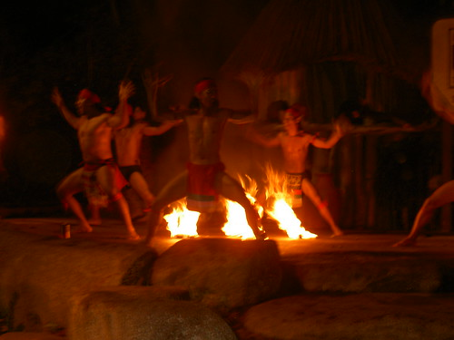 Night Safari Fire Dancers, 5 of 7 by kian esquire