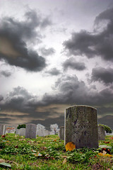 Sementeryo (laz'andre) Tags: friedhof cemetery clouds photoshop death scary philippines cementerio tombstone creepy 1928 pampanga cimetire sementeryo cimiteri allrightsreserved