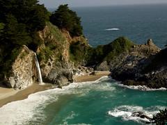 Waterfall (jillmotts) Tags: ocean california statepark geotagged coast waterfall bigsur juliapfeifferburns geo:tool=gmif pfeifferburns geo:lat=36157853 geo:lon=121672479 jillmotts