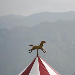 275 (sul gm) Tags: espaa horse caballo spain asturias 2006 mayo oviedo montaas carpa montes carrusel 50v5f 50club salgm