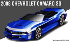 2008 Camaro SS concept rendering