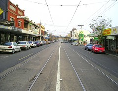 Carlisle fog (PDR) Tags: city bridge urban fog tram australia melbourne victoria stkilda pdr carlislestreet stkildaeast
