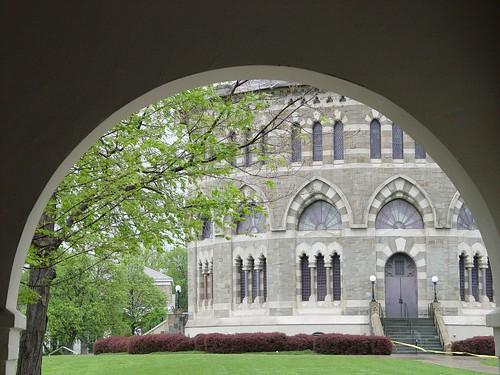 Nott thru the arch