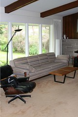 now this... (shawnwall) Tags: house modern bench interior lounge nelson retro eames pghmod
