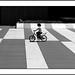 la ciclista del ajedrez