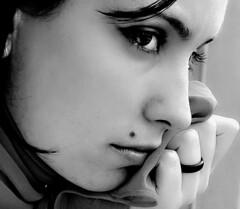 Ledsen tjej (ej botox-ehandlad)