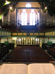 From the Pulpit (roath_park_mark) Tags: church southwales wales cardiff victorian organ baptist bible theparade tredegarvillebaptistchurch tredegarville