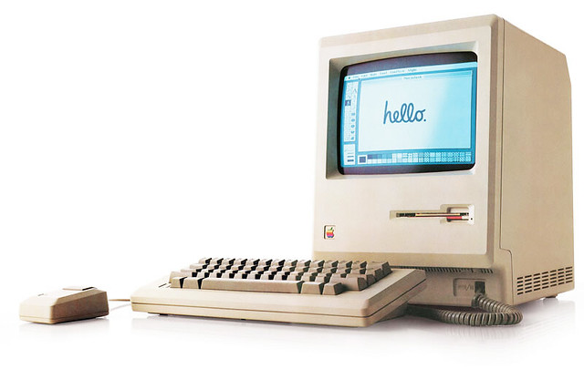 first Apple Macintosh 1984