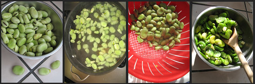 How to make fava bean salad