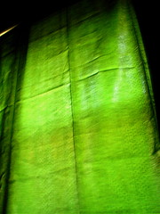 curtain (Natalia F.) Tags: green bedroom curtain roygbiv nfidel photodomino234 move7