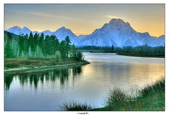 Oxbow Bend Overlook (Arnold Pouteau's) Tags: sunset nationalpark may wyoming np teton tetons grandteton f50 oxbowbend