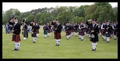"""Pipe Band 13 """"The Salute"""" (Szmytke) Tags: music march scotland kilt aberdeenshire drum bass marching bagpipes kilts bagpipe pipeband turriff"""