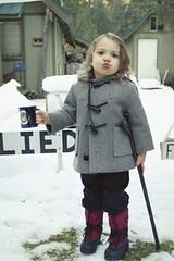 Tiny Tim (Heath & the B.L.T. boys) Tags: luke gray winter vintage coat christmas clothing