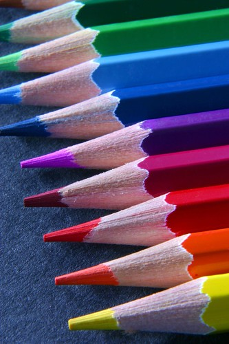 pencil rainbow v2 by the foto man.